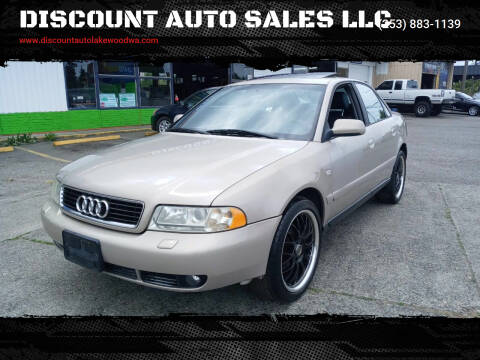 2000 Audi A4 for sale at DISCOUNT AUTO SALES LLC in Lakewood WA