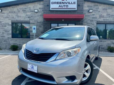 2013 Toyota Sienna for sale at GREENVILLE AUTO in Greenville WI