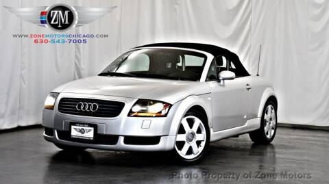 2001 Audi TT for sale at ZONE MOTORS in Addison IL