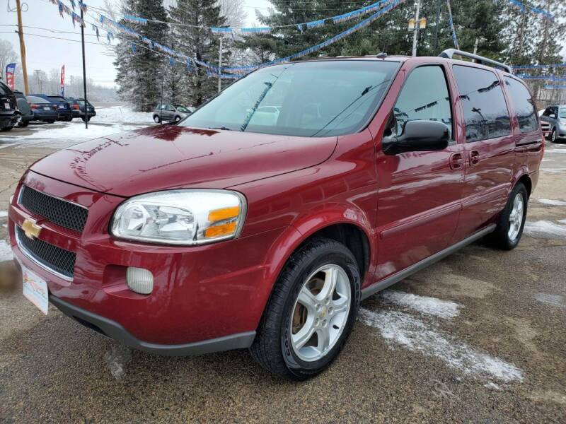 2005 Chevrolet Uplander for sale at Extreme Auto Sales LLC. in Wautoma WI