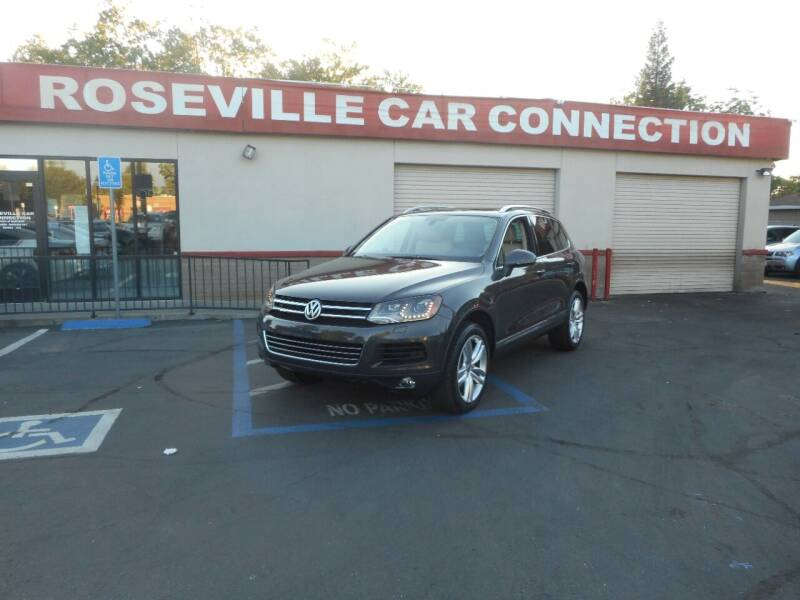 2011 Volkswagen Touareg for sale at ROSEVILLE CAR CONNECTION in Roseville CA