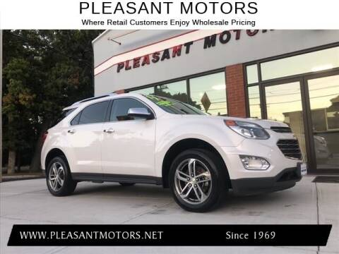 2017 Chevrolet Equinox for sale at Pleasant Motors in New Bedford MA