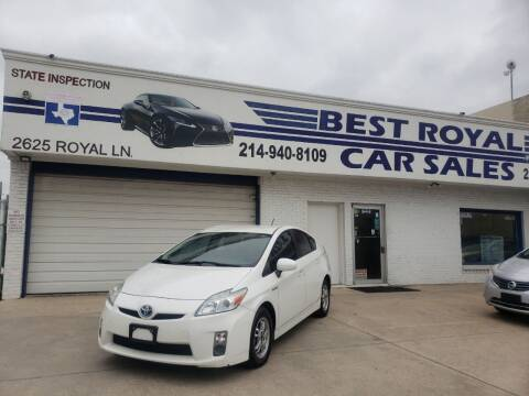 2010 Toyota Prius for sale at Best Royal Car Sales in Dallas TX