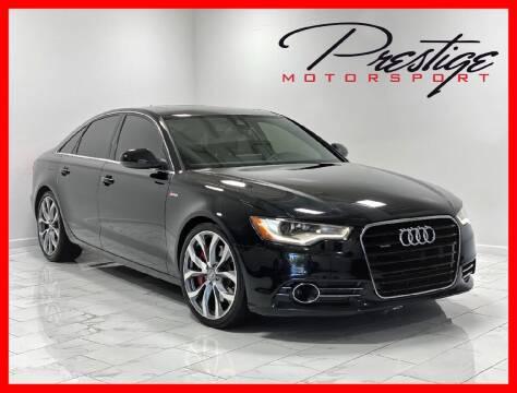 2013 Audi A6 for sale at Prestige Motorsport in Rancho Cordova CA