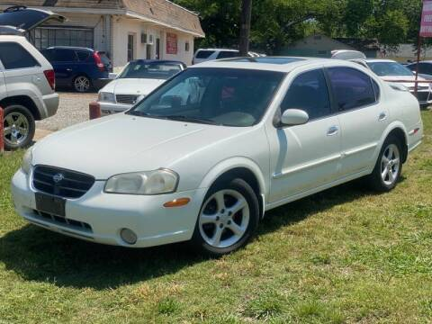 2001 Nissan Maxima for sale at Cash Car Outlet in Mckinney TX