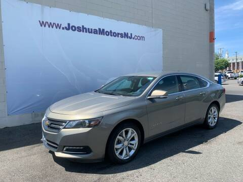 2019 Chevrolet Impala for sale at JOSHUA MOTORS in Vineland NJ