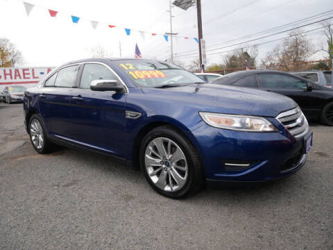 2012 Ford Taurus for sale at MICHAEL ANTHONY AUTO SALES in Plainfield NJ