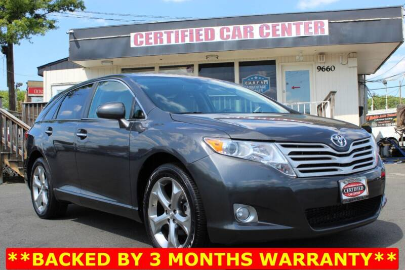 2009 Toyota Venza for sale at CERTIFIED CAR CENTER in Fairfax VA
