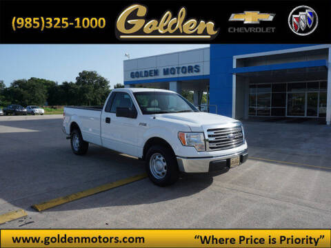 2011 Ford F-150 for sale at GOLDEN MOTORS in Cut Off LA