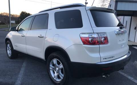 2008 GMC Acadia for sale at Auto Liquidators in Bluff City TN
