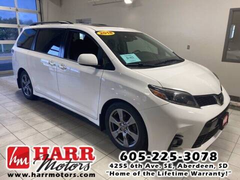 2018 Toyota Sienna for sale at Harr's Redfield Ford in Redfield SD
