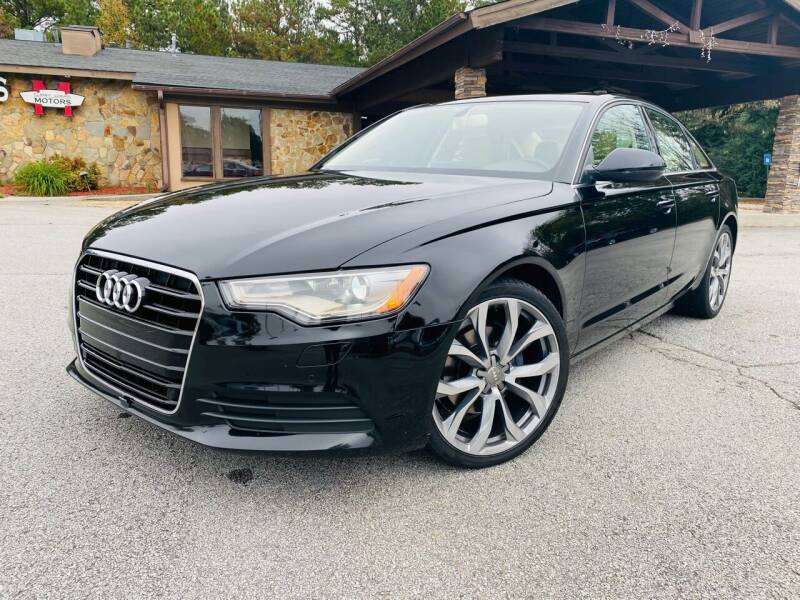 2013 Audi A6 for sale at Classic Luxury Motors in Buford GA