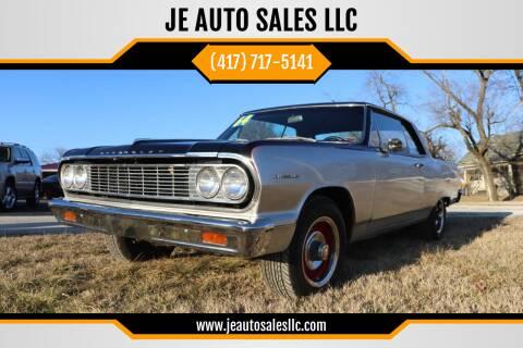 1964 Chevrolet Chevelle Malibu 2D Sport Coupe for sale at JE AUTO SALES LLC in Webb City MO