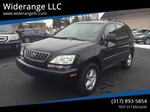2002 Lexus RX 300 for sale at Widerange LLC in Greenwood IN