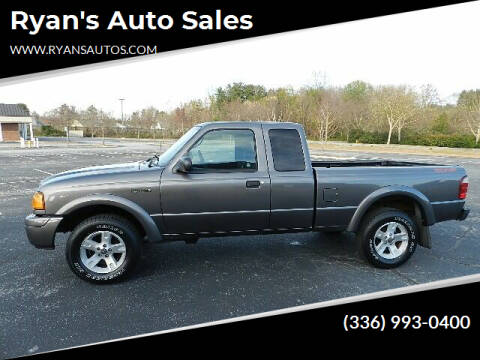 2005 Ford Ranger for sale at Ryan's Auto Sales in Kernersville NC