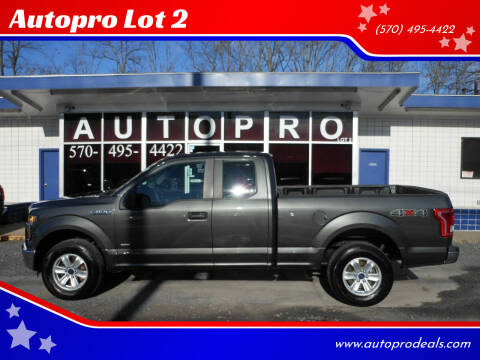 2015 Ford F-150 for sale at Autopro Lot 2 in Sunbury PA
