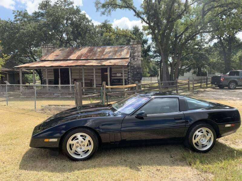 1990 Chevrolet Corvette for sale at Village Motors Of Salado in Salado TX