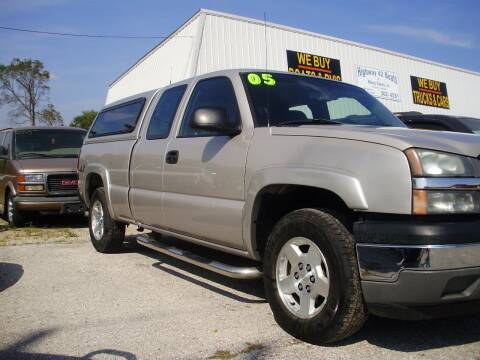 2005 Chevrolet Silverado 1500 for sale at HIGHWAY 42 CARS BOATS & MORE in Kaiser MO