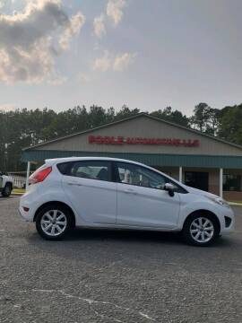 2013 Ford Fiesta for sale at Poole Automotive in Laurinburg NC
