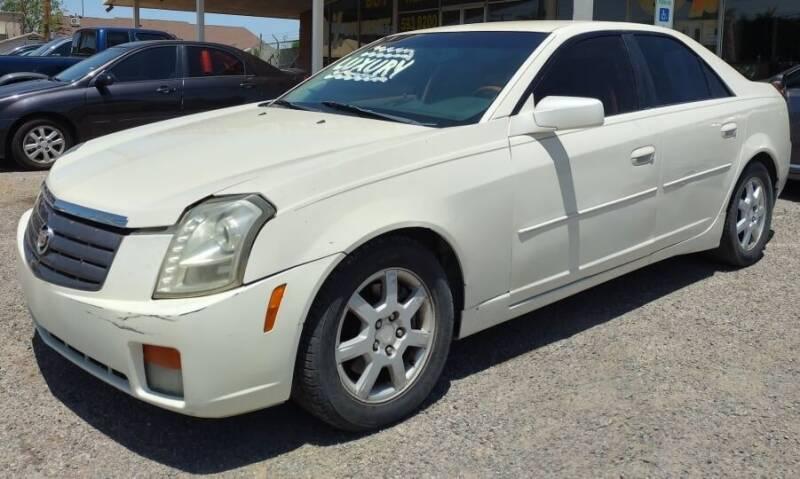 2004 Cadillac CTS for sale at 4 U MOTORS in El Paso TX