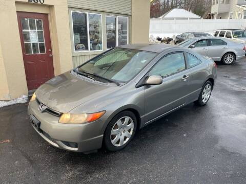 2008 Honda Civic for sale at Autowright Motor Co. in West Boylston MA