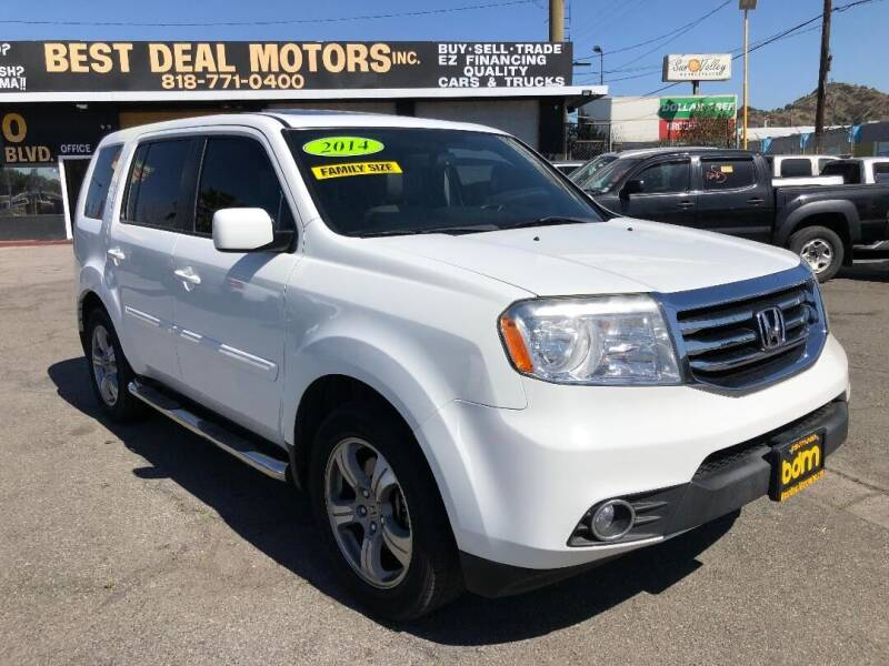 2014 Honda Pilot for sale at BEST DEAL MOTORS  INC. CARS AND TRUCKS FOR SALE in Sun Valley CA