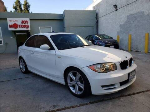 2008 BMW 1 Series for sale at Joy Motors in Los Angeles CA