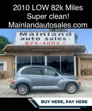 2010 Chrysler PT Cruiser for sale at Mainland Auto Sales Inc in Daytona Beach FL