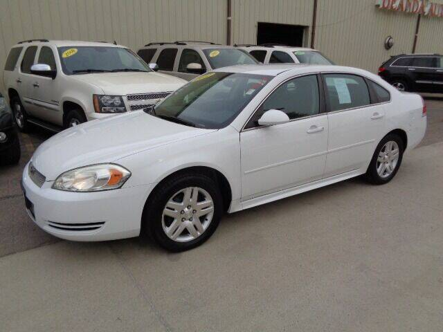 2012 Chevrolet Impala for sale at De Anda Auto Sales in Storm Lake IA