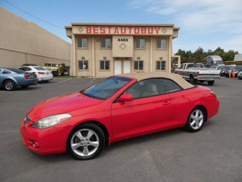 2007 Toyota Camry Solara for sale at Best Auto Buy in Las Vegas NV