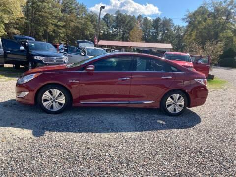 2015 Hyundai Sonata Hybrid for sale at Joye & Company INC, in Augusta GA