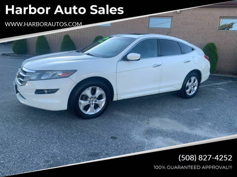 2012 Honda Crosstour for sale at Harbor Auto Sales in Hyannis MA