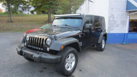 2016 Jeep Wrangler Unlimited for sale at Auto Outlet of Morgantown in Morgantown WV