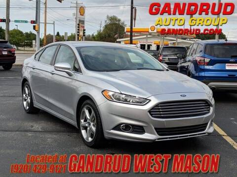 2013 Ford Fusion for sale at GANDRUD CHEVROLET in Green Bay WI