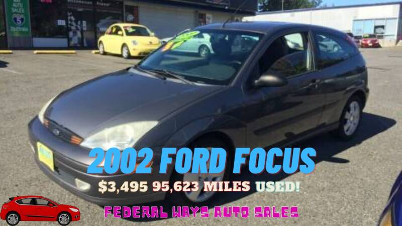 2002 Ford Focus for sale at Federal Way Auto Sales in Federal Way WA