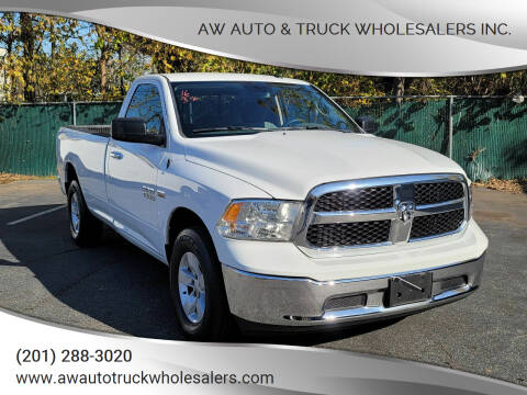 2016 RAM Ram Pickup 1500 for sale at AW Auto & Truck Wholesalers  Inc. in Hasbrouck Heights NJ