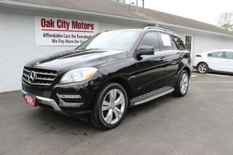 2012 Mercedes-Benz M-Class for sale at Oak City Motors in Garner NC