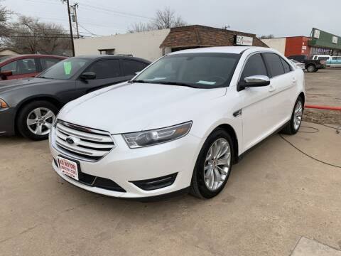2015 Ford Taurus for sale at KD Motors in Lubbock TX