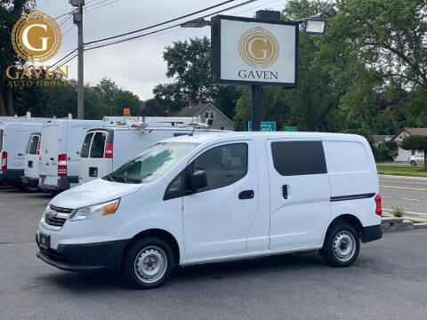 2017 Chevrolet City Express Cargo for sale at Gaven Auto Group in Kenvil NJ