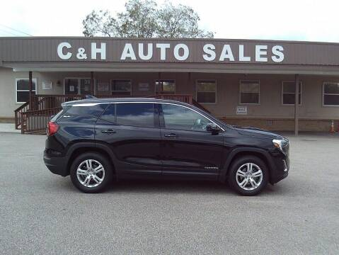 2018 GMC Terrain for sale at C & H AUTO SALES WITH RICARDO ZAMORA in Daleville AL