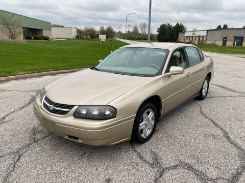 2005 Chevrolet Impala for sale at JE Autoworks LLC in Willoughby OH