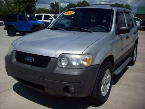 2006 Ford Escape for sale at Nemaha Valley Motors in Seneca KS