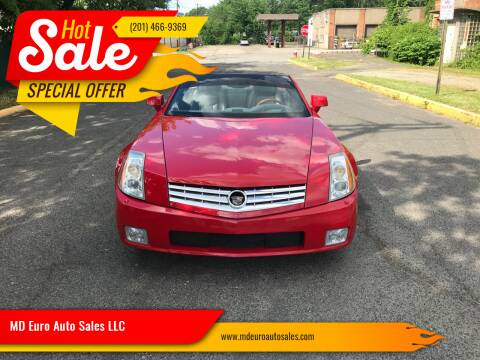 2007 Cadillac XLR for sale at MD Euro Auto Sales LLC in Hasbrouck Heights NJ