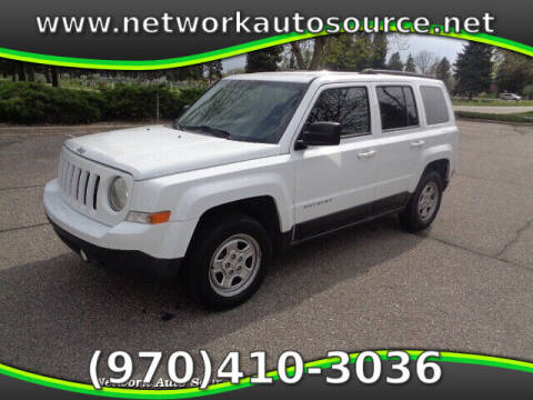 2015 Jeep Patriot for sale at Network Auto Source in Loveland CO