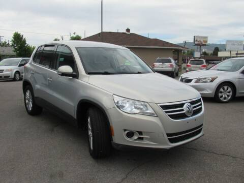 2010 Volkswagen Tiguan for sale at Crown Auto in South Salt Lake UT