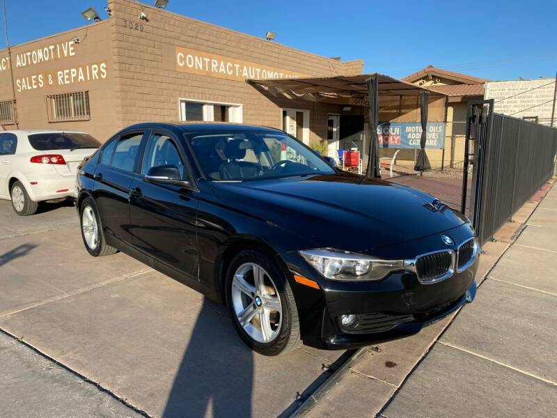 2015 BMW 3 Series for sale at CONTRACT AUTOMOTIVE in Las Vegas NV