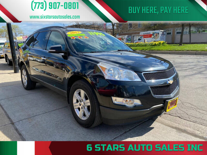 2012 Chevrolet Traverse for sale at 6 STARS AUTO SALES INC in Chicago IL