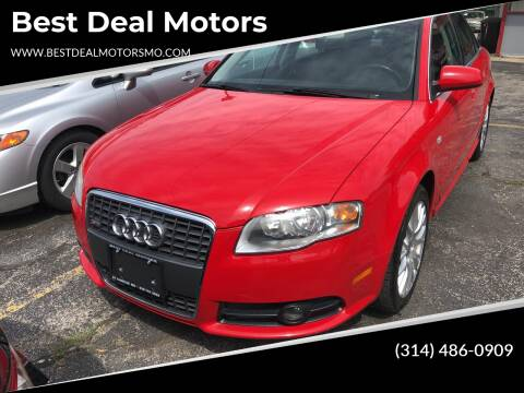 2008 Audi A4 for sale at Best Deal Motors in Saint Charles MO