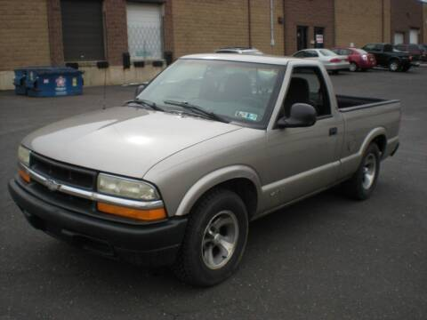 2001 Chevrolet S-10 for sale at 611 CAR CONNECTION in Hatboro PA