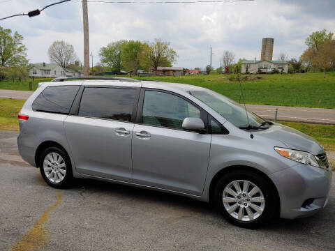 2011 Toyota Sienna for sale at K & P Used Cars, Inc. in Philadelphia TN